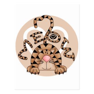 Le Meow du chat Carte Postale