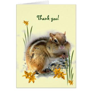 Le Merci de la tamia Cartes De Vœux
