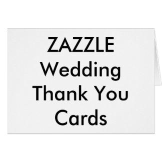 """Le Merci fait sur commande de mariage carde 5,6"""" x Cartes De Vœux"""