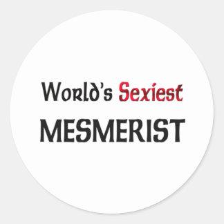 Le Mesmerist le plus sexy du monde Adhésif Rond