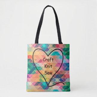 Le métier, Knit, cousent le sac