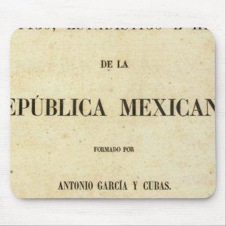 Le Mexique 7 Tapis De Souris