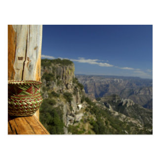 Le Mexique, chiwawa, canyon de cuivre. Vue de Carte Postale