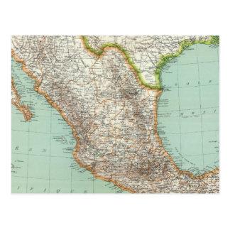 Le Mexique et le Guatemala 3 Carte Postale