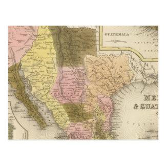 Le Mexique et le Guatemala 5 Carte Postale