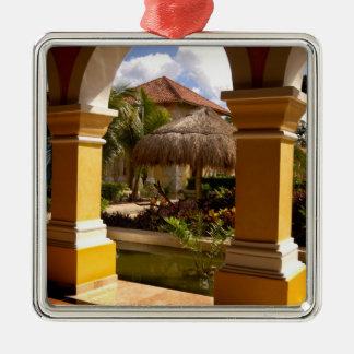 Le Mexique, la Riviera maya, architecture chez Ornement Carré Argenté