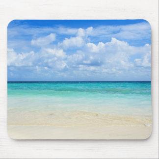 Le Mexique, Playa del Carmen, plage tropicale Tapis De Souris