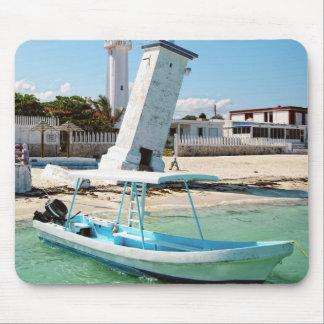 Le Mexique Puerto Morelos Tapis De Souris