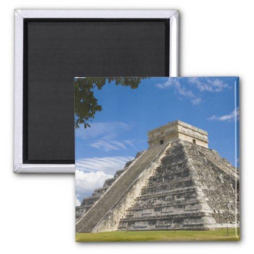 Le Mexique, Quintana Roo, près de Cancun, Chichen  Aimants