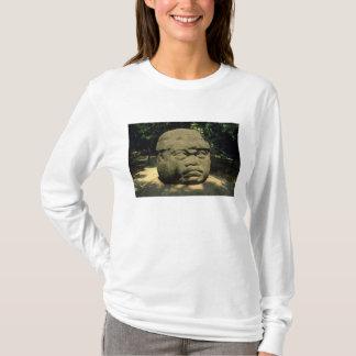 Le Mexique, Villahermosa, tête géante d'Olmec, La T-shirt