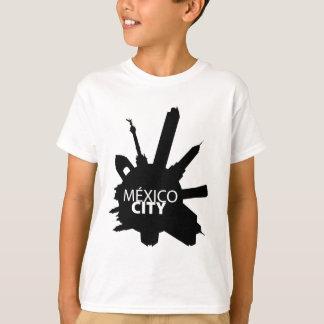 Le Mexique Ville Rounded T-shirt
