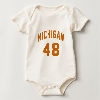 Le Michigan 48 conceptions d'anniversaire Body
