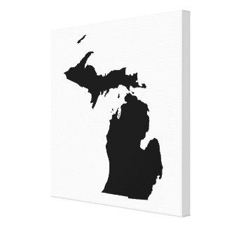 Le Michigan en noir et blanc Toiles