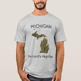 Le Michigan - le T-shirt de High cinq du seigneur