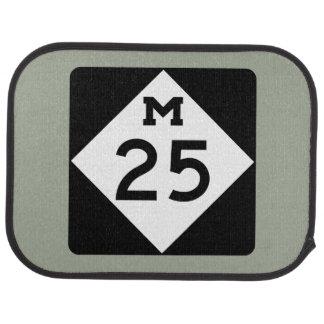 Le Michigan M-25 Tapis De Voiture