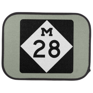 Le Michigan M-28 Tapis De Voiture