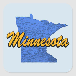 Le Minnesota Sticker Carré