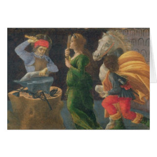 Le miracle de St Eligius, panneau de predella de Cartes