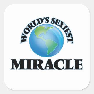 Le miracle le plus sexy du monde stickers carrés