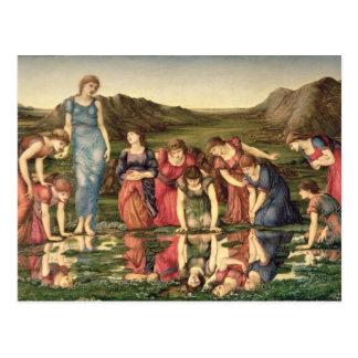 Le miroir de Vénus, 1870-76 (huile sur la toile) Carte Postale
