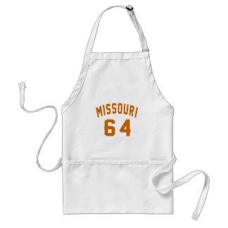 Le Missouri 64 conceptions d'anniversaire Tablier