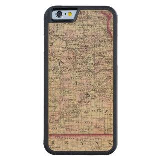 Le Missouri 7 Coque iPhone 6 Bumper En Érable