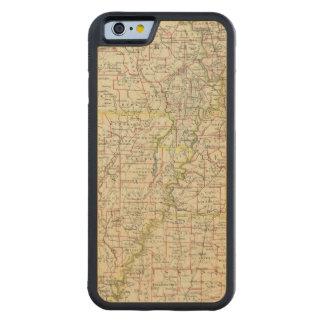 Le Missouri, Arkansas, Kentucky, Tennessee Coque iPhone 6 Bumper En Érable