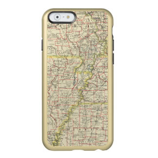 Le Missouri, Arkansas, Kentucky, Tennessee Coque iPhone 6 Incipio Feather® Shine