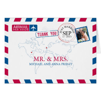 Le Missouri Etats-Unis et Merci BRITANNIQUE de Cartes De Vœux