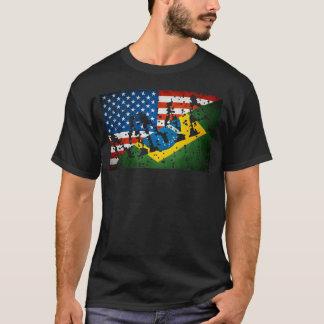 """Le MIXED MARTIAL ART marque le T-shirt """"étiqueté"""""""
