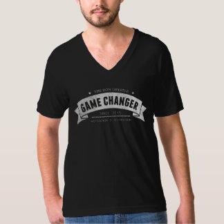 Le mode de vie de Don - V-cou de commutateur de T-shirt