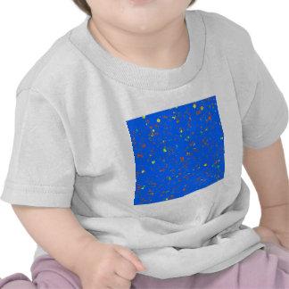 Le modèle bleu rêveur de Goodluck ajoutent l image T-shirts