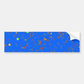 Le modèle bleu rêveur de Goodluck ajoutent l'image Adhésif Pour Voiture