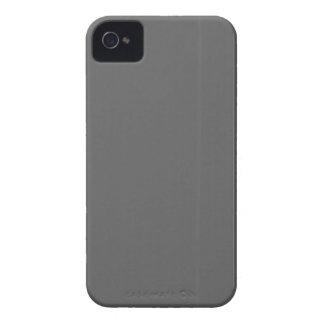 Le modèle simple gris du blanc do-it-yourself coques iPhone 4