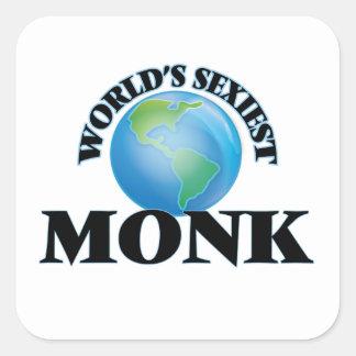 Le moine le plus sexy du monde sticker carré
