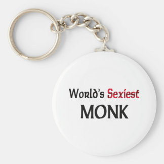 Le moine le plus sexy du monde porte-clé rond