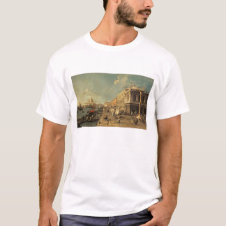 Le Molo et le Zecca, Venise (huile sur la toile) T-shirt