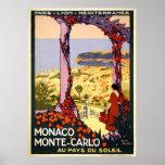 Le Monaco Monte Carlo Affiche