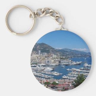 Le Monaco Porte-clé Rond
