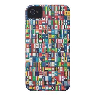 Le monde marque la caisse de l'iPhone 4 Étuis iPhone 4