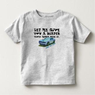 Le MONDO T - le DOIGT Rod T-shirt Pour Les Tous Petits