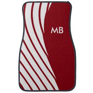 Le monogramme des hommes moderne tapis de voiture