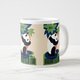 """Le monogramme fait sur commande vintage """"de zoo de mug jumbo"""