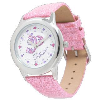 Le monogramme P a personnalisé la montre nommée de