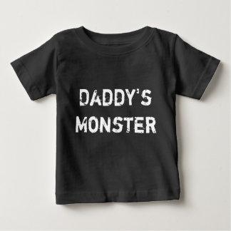 Le monstre du papa t-shirt pour bébé