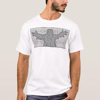 Le monstre du T-shirt fantôme de lac
