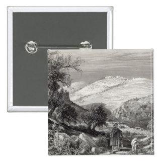 Le mont des Oliviers, du mont Sion Badge