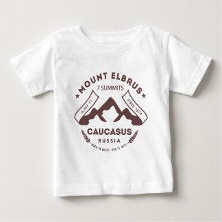 Le mont Elbrouz Caucase Russie T-shirt Pour Bébé