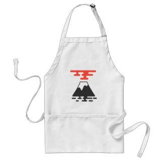 Le mont Fuji Tablier