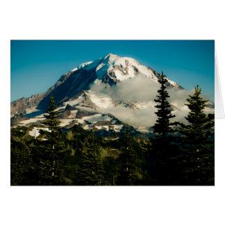Le mont Rainier à la crête de Tolmie Carte De Vœux